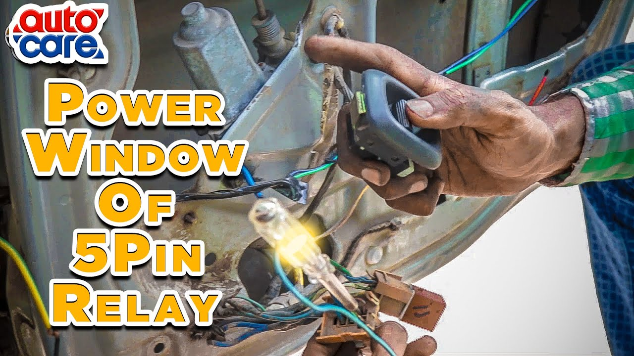 How 5 Pin Relay Works In Power Window