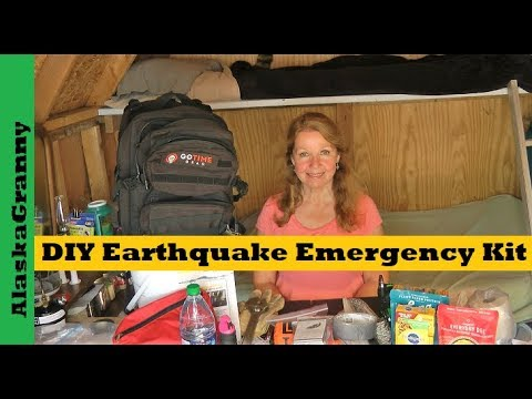DIY Earthquake Emergency Kit What To Do Before During After Earthquakes