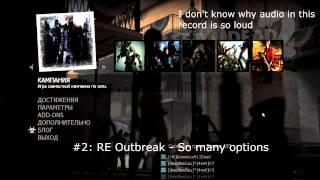 Left 4 Dead 2 - Resident Evil Music for Menu