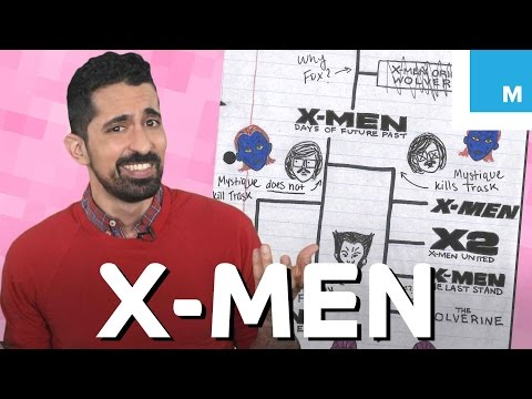 Attempting to Explain the X-Men Movie Timeline | Mashable Explains