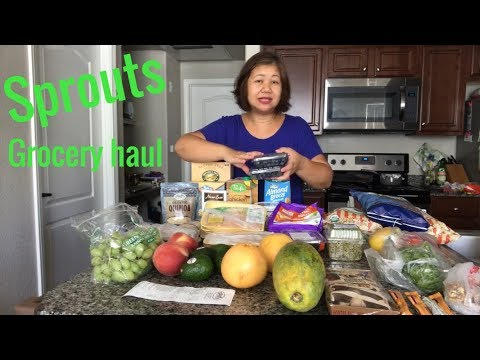 Sprouts farmers market grocery haul