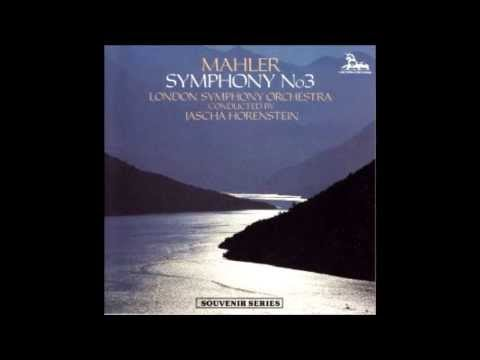 Horenstein: Symphony no. 3, Mahler (3/3)
