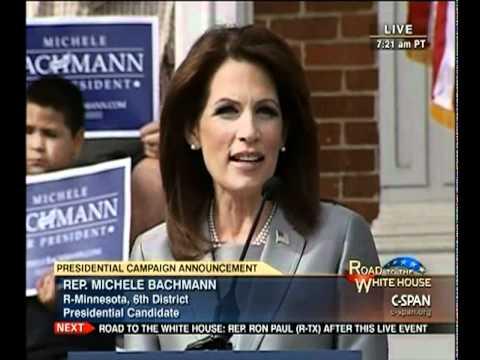Rep. Michele Bachmann (R-MN) Presidential Announcement
