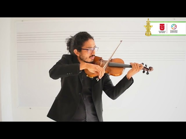 #ConcursoInternacionaldeViolin | Primera ronda de eliminatorias: Jose Luis Forero Daza
