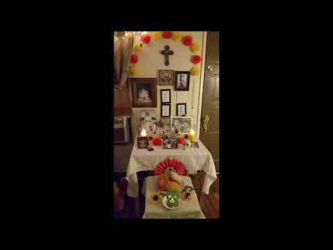 Day of the Dead Altar-Ancestor Altar-Boveda