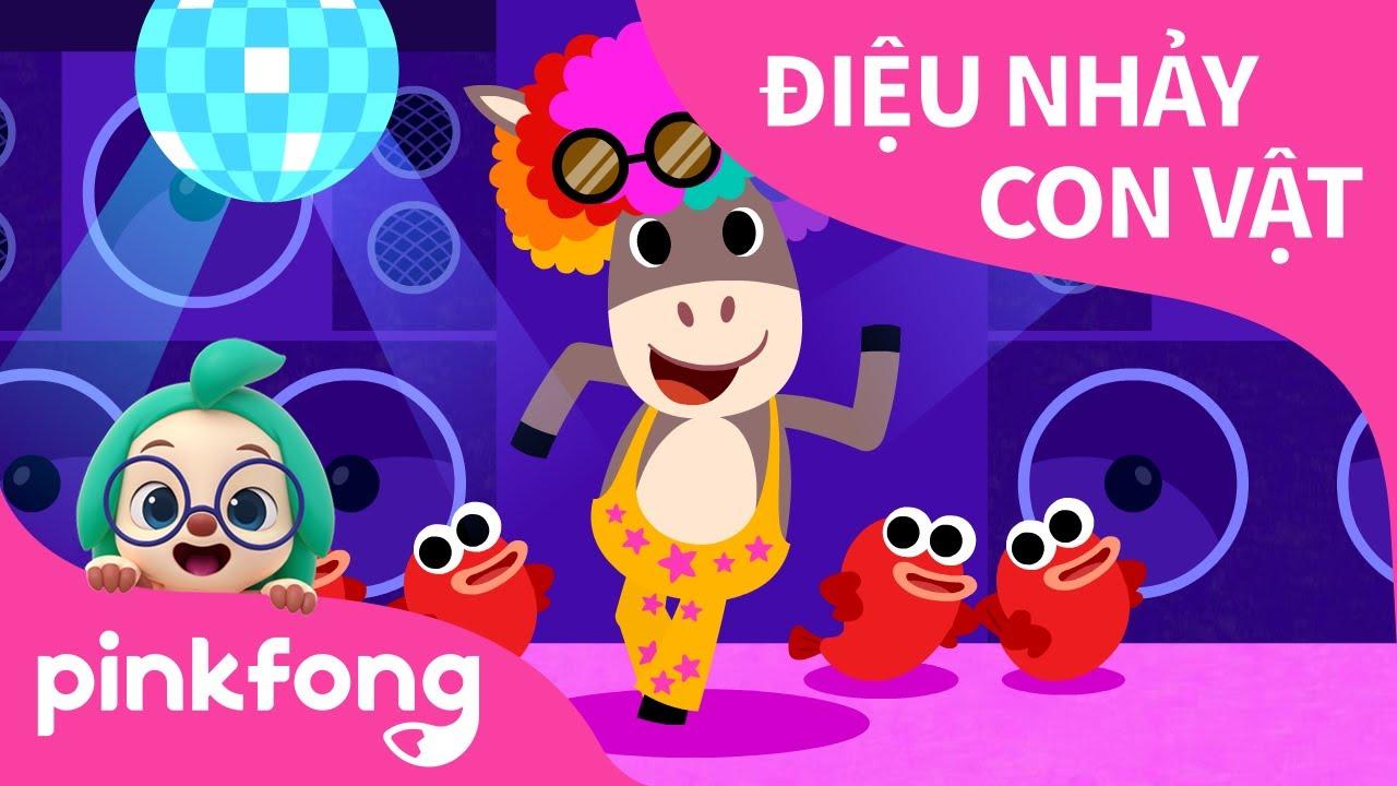 Điệu Nhảy Con Vật | Bài hát về Động Vật | Pinkfong! Những bài hát cho trẻ em