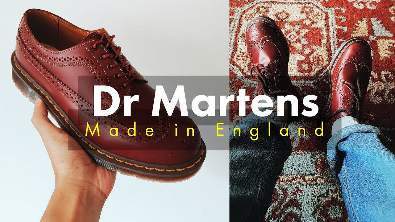 Dr Martens 3989 MADE IN ENGLAND