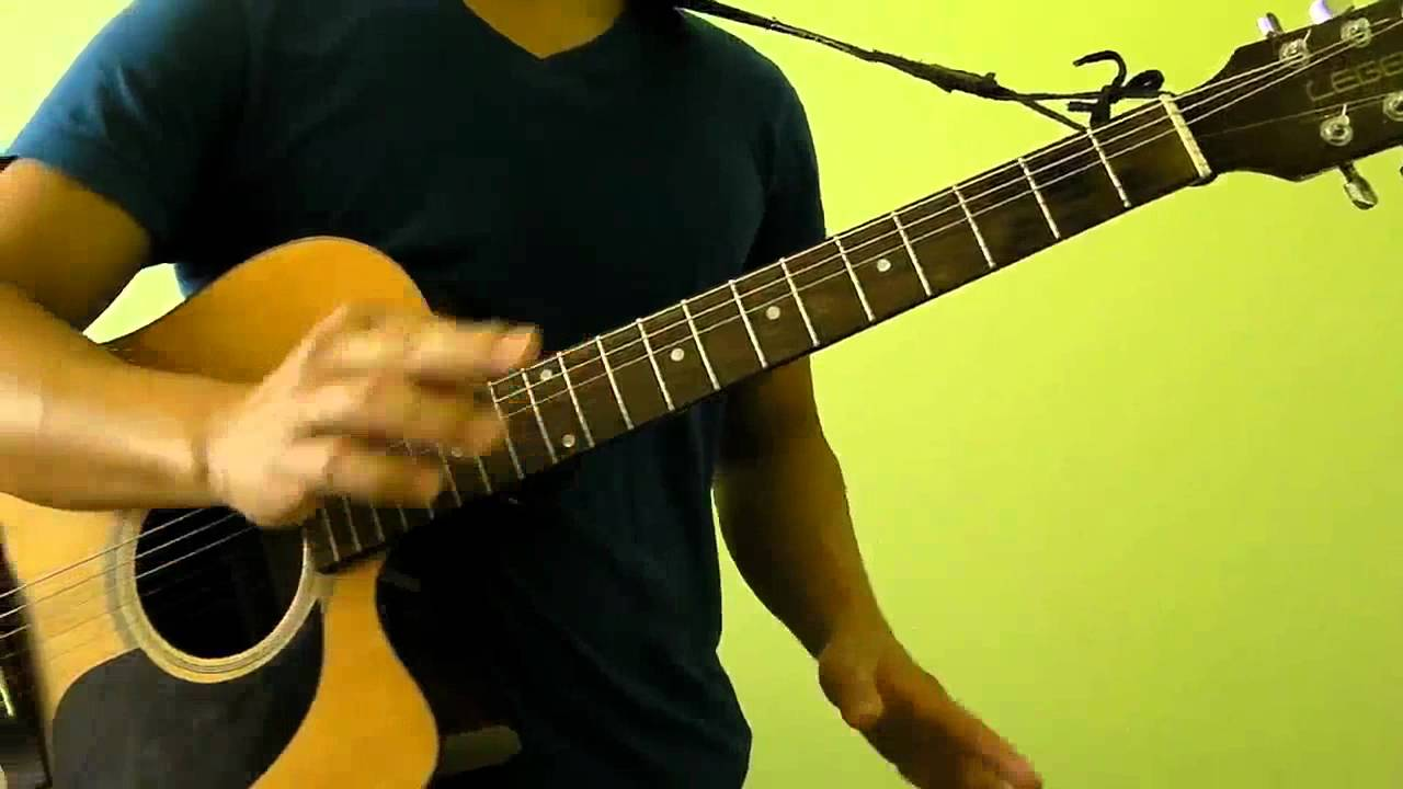 With or Without You - U2 - Easy Guitar Tutorial (No Capo)