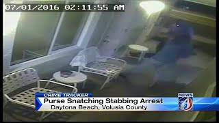 Woman stabbed during robbery in Daytona Beach