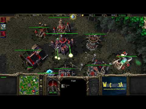 Happy(UD) vs KnOfF(ORC) - WarCraft 3 Frozen Throne - RN3742