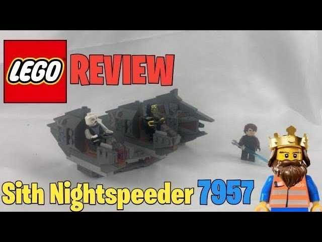 LEGO ® STAR WARS Sith Nightspeeder 7957 REVIEW