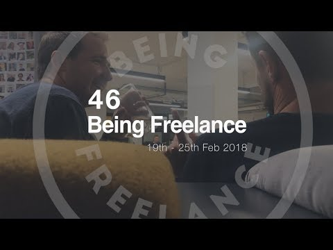 Checking out co-work spaces - 46 Being Freelance Vlog