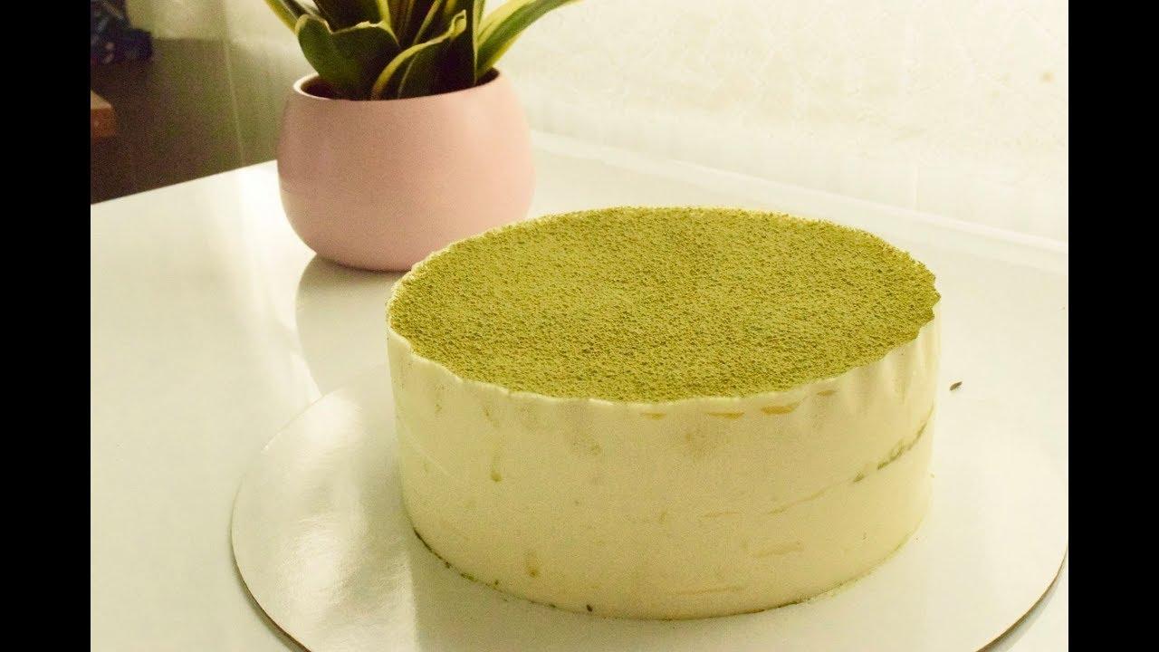 Cách làm bánh tiramisu trà xanh