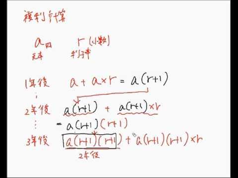 複利計算の公式 - YouTube