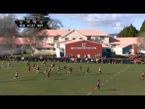 1st XV Rugby: Scot's College v Rotorua BHS (Final)   SKY TV