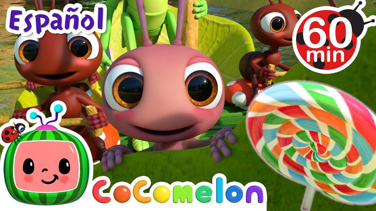 CoComelon en Español | Rema, rema tu bote | Canciones Infantiles y de Cuna