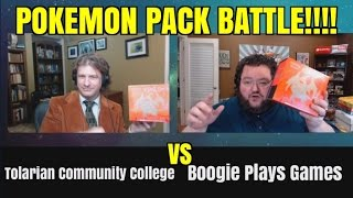 pokemon pack battle with tolarian community college