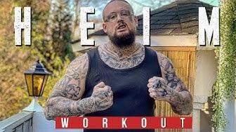 TRAINING ZU HAUSE - Improvisiertes Workout ⎮ Ohne Gym ⎮ Max Cameo