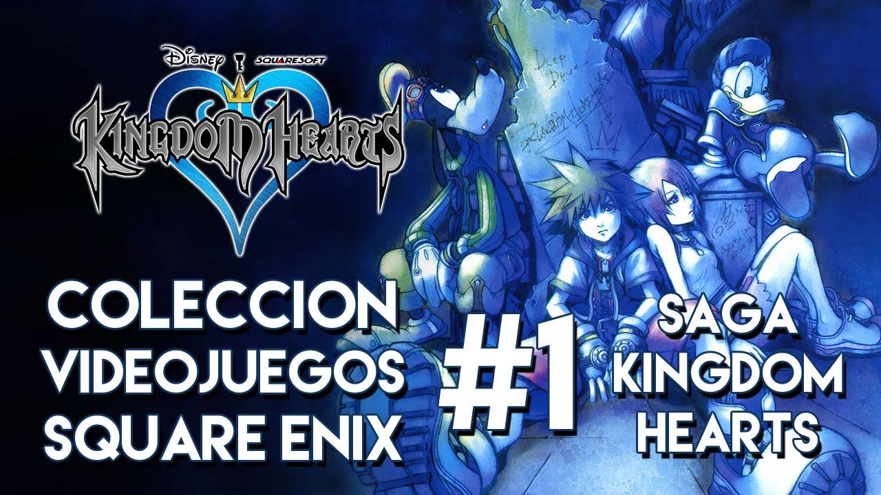 Coleccion Square Enix 1 Saga Kingdom Hearts Y Juegos