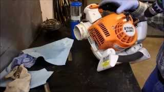 A Stihl Leaf Blower That Bogs Down