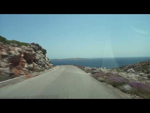 The north eastern Crete (From Sitia to the Peninsula Kyriamadi)