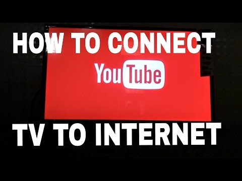 How to connect smart TV to internet using hotspot!