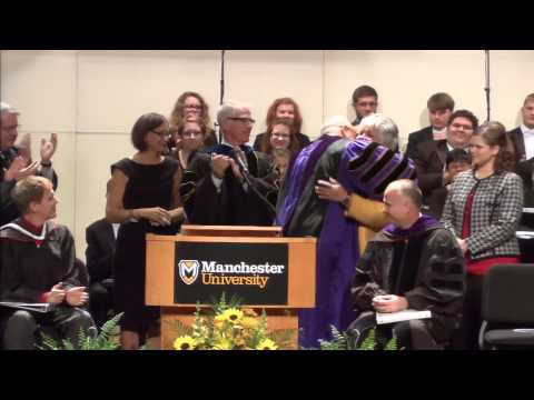 Manchester University Inauguration of Dr. David McFadden as 15th President