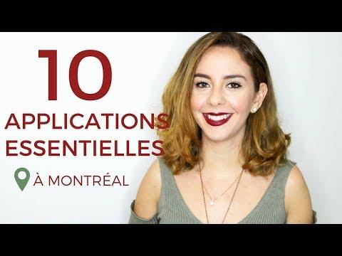 10 app' à avoir à Montréal !!!