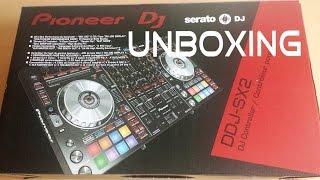 PIONEER DDJ SX2 Controller Unboxing DDJ SX2 High Class DJ Controller Deutsch