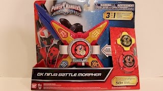 DX Ninja Battle Morpher Review [Power Rangers Ninja Steel]