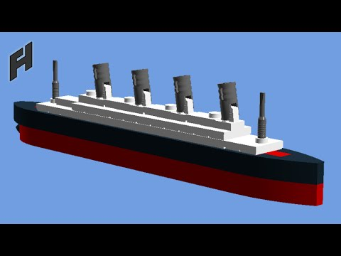 How To Build The Titanic Microscale Lego Toy Youtube