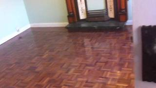 Mosaic Parquet Panelled Floor Repaired And Restored In Meols, Wirral By Woodfloor-renovations