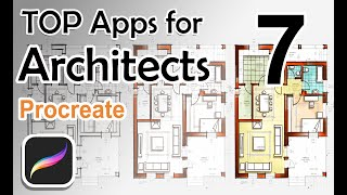 Top Apps For Architects Procreate Floor Plans