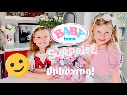 Baby Born Surprise Unboxing