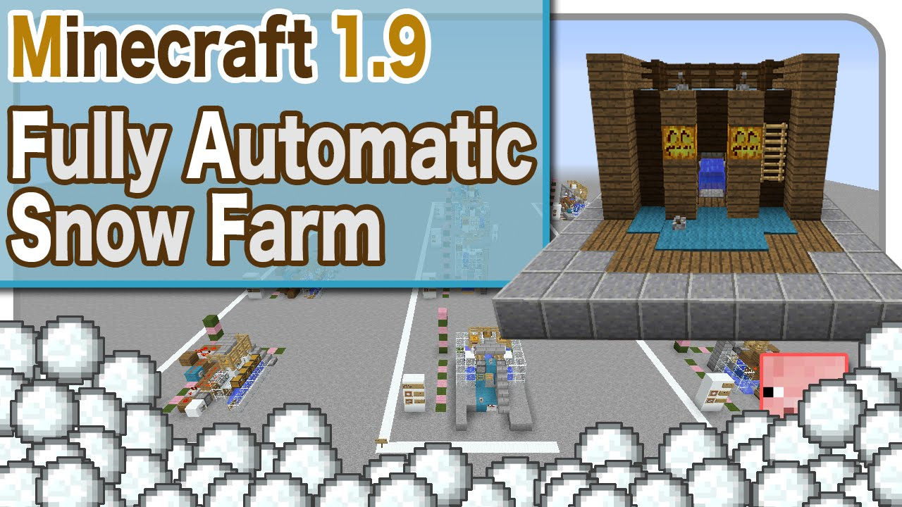 How to Build an automatic wheat farm in Minecraft « PC ...