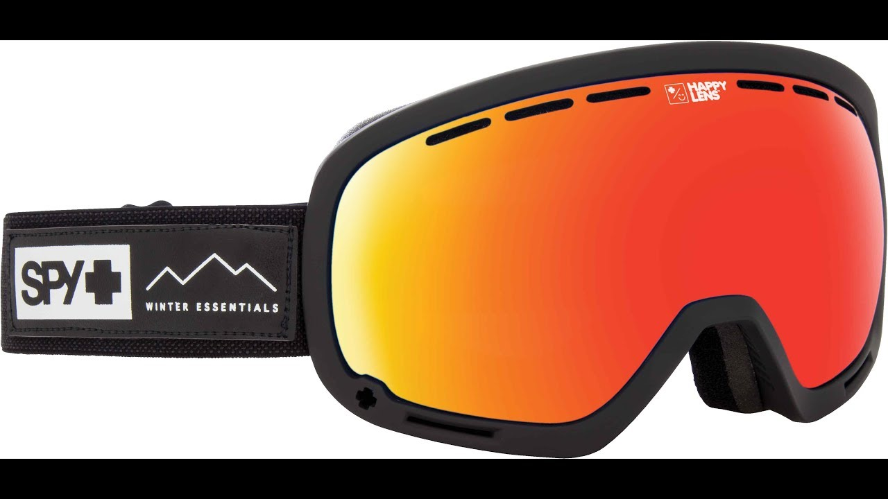 afd2821e1adb4 SPY Marshall Snow Goggle Product Knowledge Video - YouTube