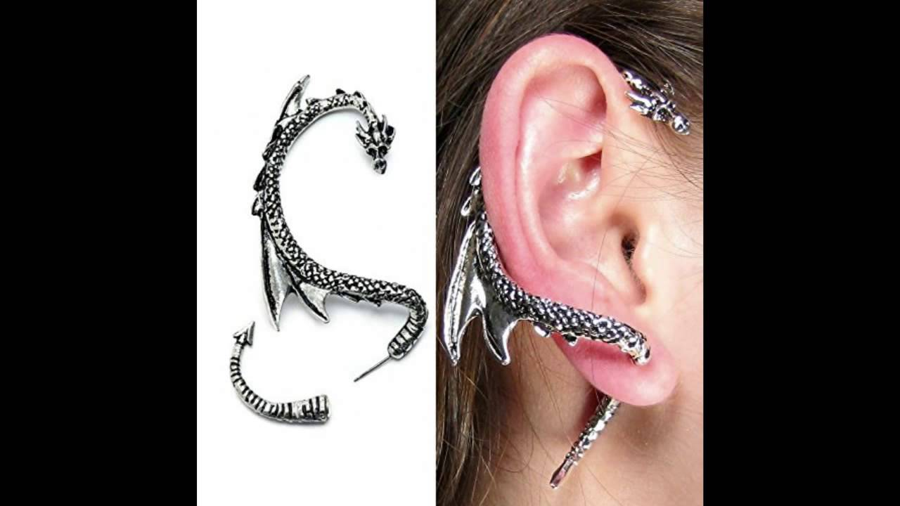 ear cuff high earrings wrap crystal fashion products