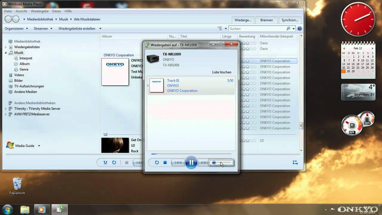 ONKYO Windows Media Player