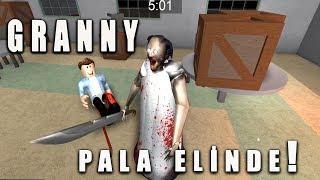 GRANNY PALA ELİNDE !! / ROBLOX GRANNY / PRATİK OYUN