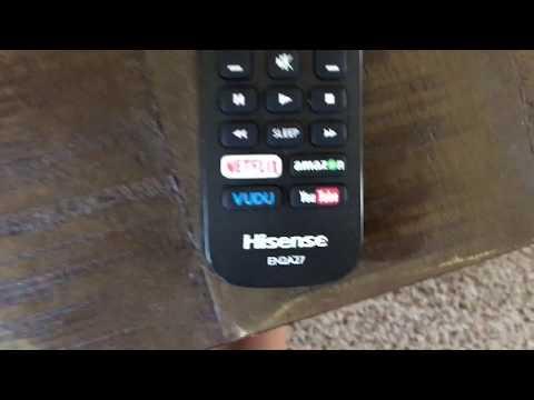 How to setup netflix on a hisense smart tv