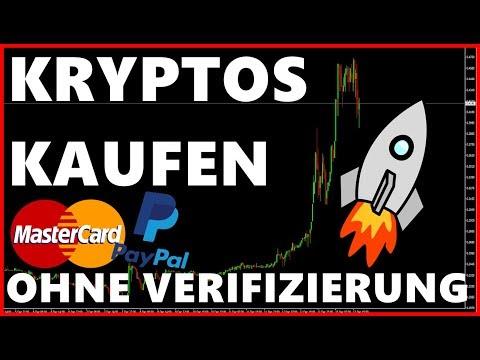Sofort Kryptowährungen Kaufen Ohne Verifizierung (CFD) (PayPal, Kreditkarte) Anleitung Deutsch