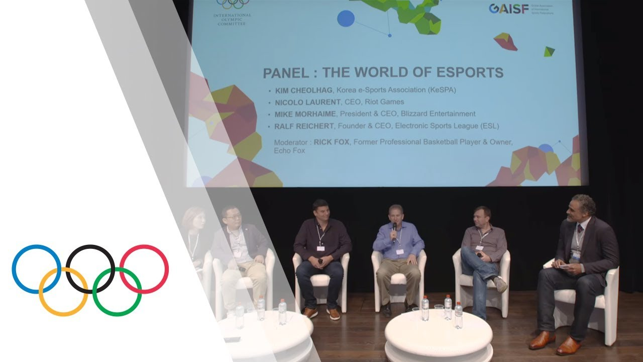 Olympic Movement esports and gaming communities meet at the