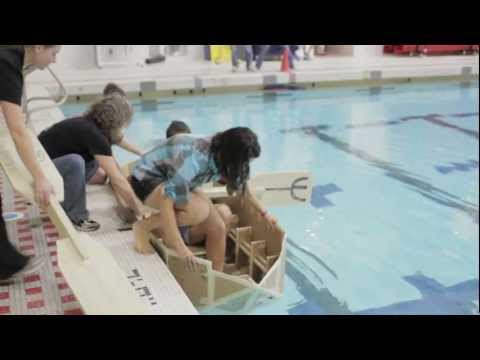 MIT's Annual Cardboard Boat Regatta