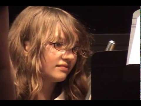 Rockvale Tennessee USA Middle School Band Recital Sixth Grade 2008