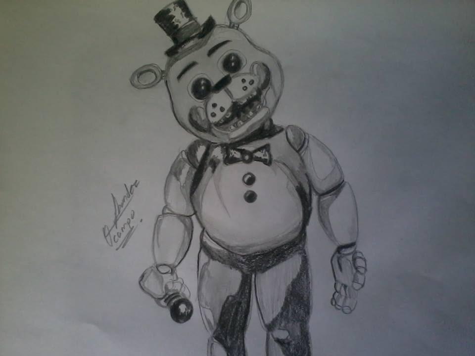 Drawing Toy Freddy Como Dibujar A Toy Freddy A Lapiz Fivenights At