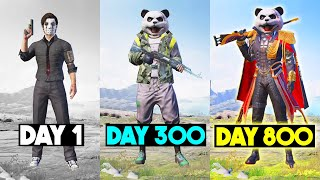PANDA 800 DAYS in PUBG MOBILE
