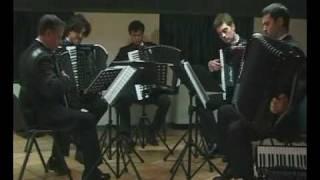 Violentango Astor Piazzolla Quintetto Veneto fisarmoniche