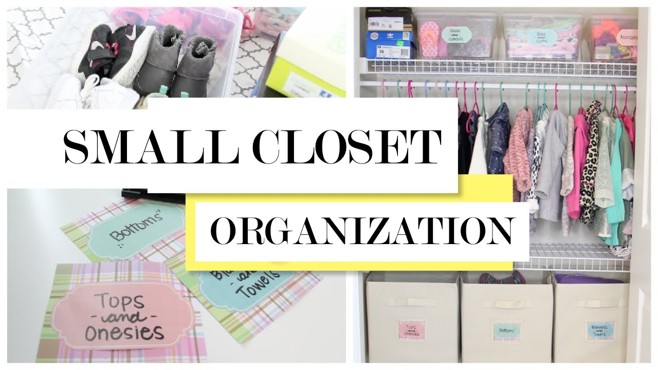 small closet organization and storage tips and diy youtube