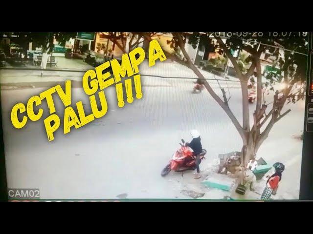 Cctv gempa kota palu