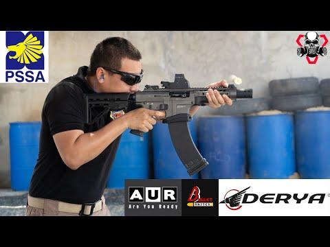 รีวิวทดสอบยิง DERYA MK12 9.5 นิ้ว และ 20 นิ้ว